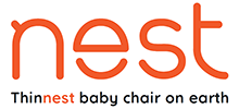 "Chair Nest – EN – ""Nest"", the thinnest folding baby chair"